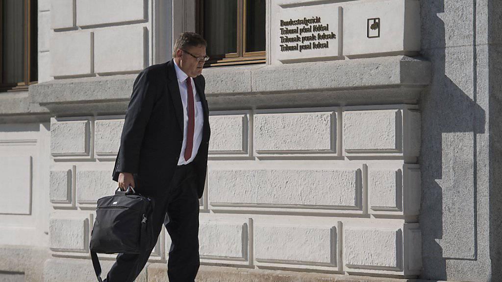 Das Bundesgericht hat die bedingte Geldstrafe für den ehemaligen KPMG-Revisor Daniel Senn bestätigt. (Archivbild)