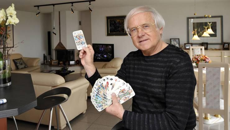 Gilbert Gress mag nicht nur Fussball sehr gerne, sondern auch verschiedene Kartenspiele.