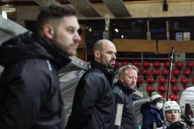Zufriedene Gesichter beim Oltner Coaching Staff.