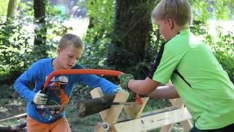 Ferienpass: Holzspaltkurs in Mühledorf