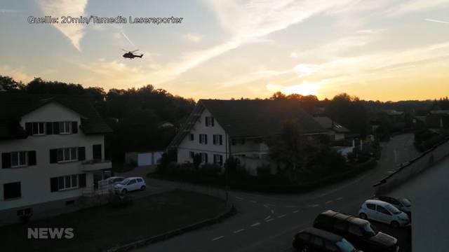 Militärpolizei flog tief über Utzenstorf