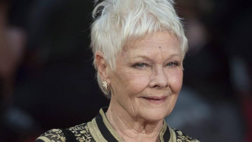 Judi Dench hat zum achten Mal den Oliver Award, die höchste Theaterauszeichnung in Grossbritannien, erhalten (Archiv)