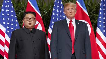 Kim Jong Un hat über sein Propaganda-Netzwerk die Sanktionen von US-Präsident Donald Trump gegen sein Land kritisiert. (Archivbild)