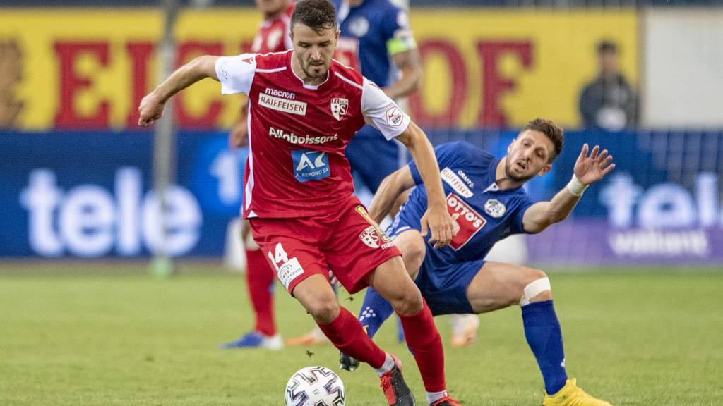 Luzern verliert in der Swissporarena gegen Sion