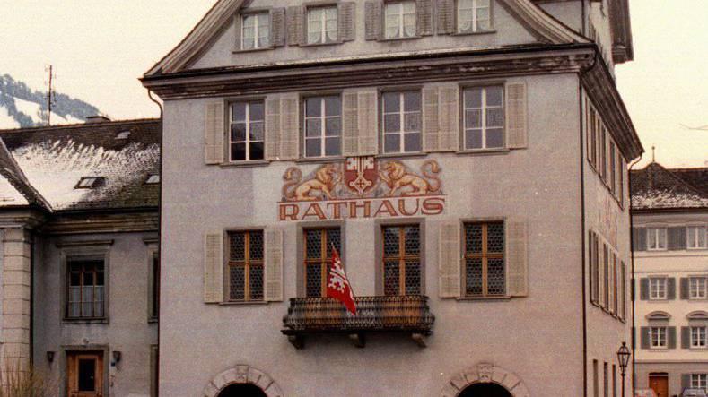Rathaus von Stans.