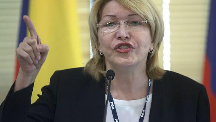 Auf der Flucht vor dem Regime von Venezuelas Staatspräsident Nicolàs Maduro: ex-Generalstaatsanwältin Luisa Ortega.