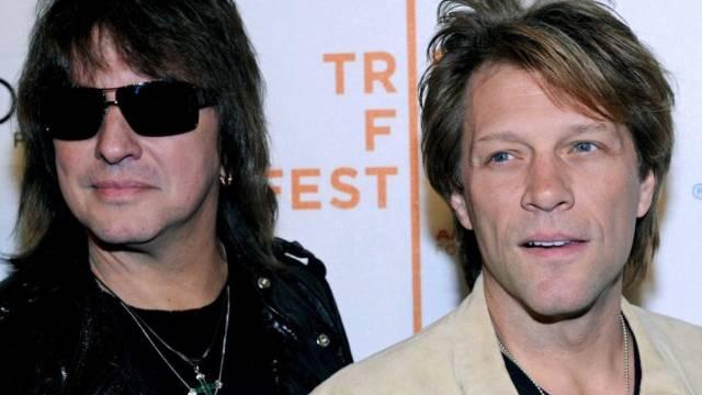 Unversöhnlich: Richie Sambora (l) und Jon Bon Jovi (Archiv)