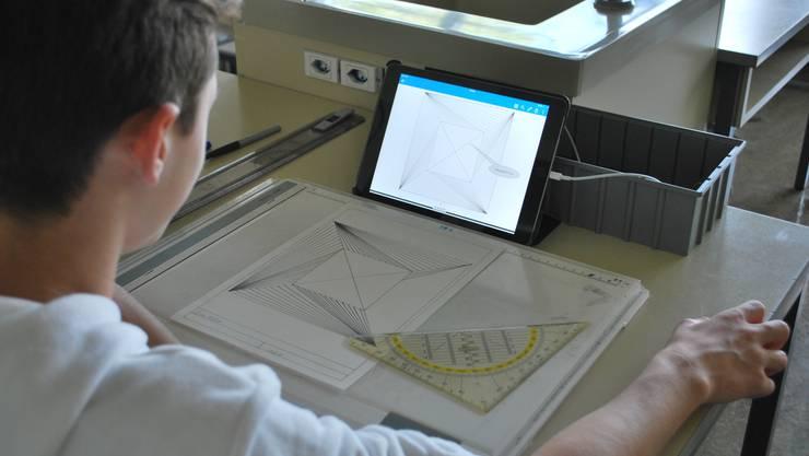 Einsatz eines iPads im Geometrisch-Technischen Zeichnen