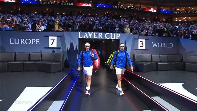 Tennispremiere am Laver Cup