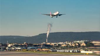 Stein des Anstosses: Die geplanten Abflugrouten vom Flughafen Zürich.