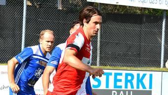 Der Solothurner Marco Mathys beim 3:2-Sieg im Heimspiel gegen den FC Wohlen.