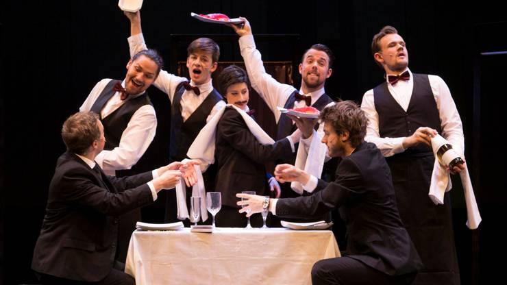 Das Musical-Try-Out«Knocking on heaven's door» im Häbse Theater Basel.