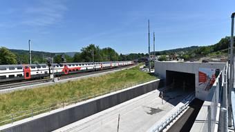 Neubau Eppenbergtunnel SBB 06-2019 auf Seite Gretzenbach