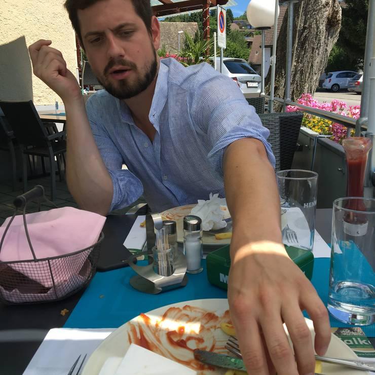 Mmmh - Schnipo im Restaurant Krone.