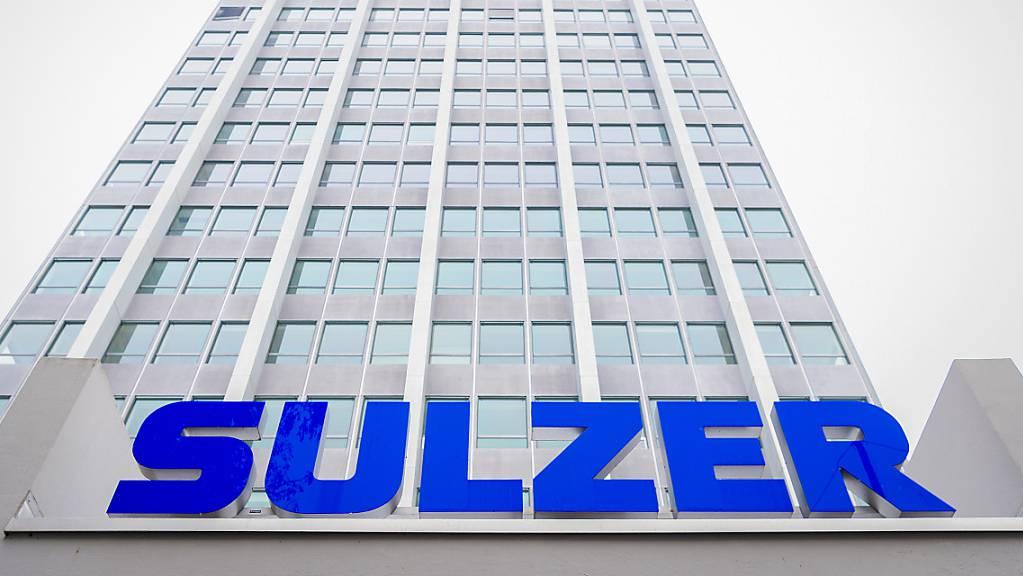 Der Sulzer-Konzern mit Sitz in Winterthur meldet für die erste Jahreshälfte sowohl beim Umsatz als auch beim Gewinn steigende Zahlen. (Archivbild)