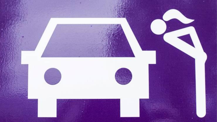 Piktogramm der Zürcher Sexboxen. (Symbolbild)