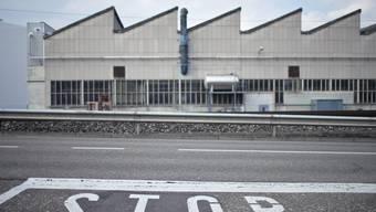 Fabrikhalle von Swissmetal im solothurnischen Dornach