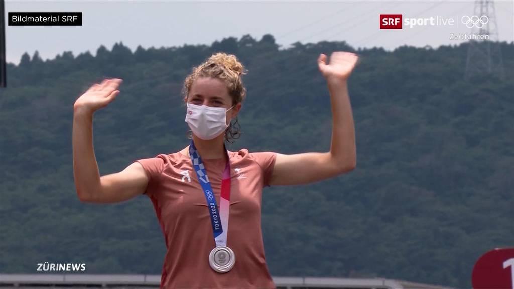 Weitere Olympia-Medaille: Marlen Reusser holt im Zeitfahren Silber