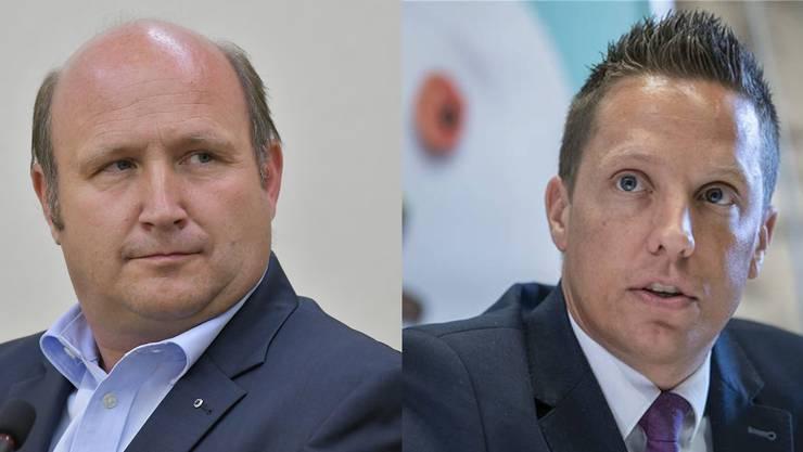 FDP-Fraktionschef Peter Hodel kritisiert den «unsolothurnischen» Politstil der SVP. «Die Vorwürfe sind absolut lächerlich», sagt SVP-Nationalrat Christian Imark.