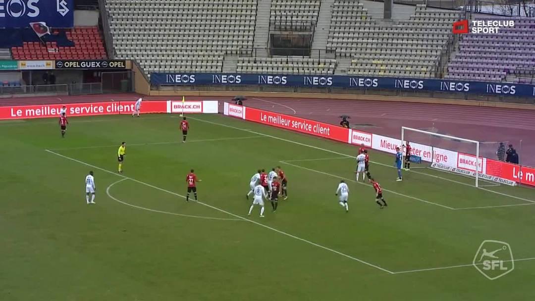 Challenge League 18/19 Runde 24: FC Lausanne-Sport - FC Aarau  9.3.19 - Chance Lausanne