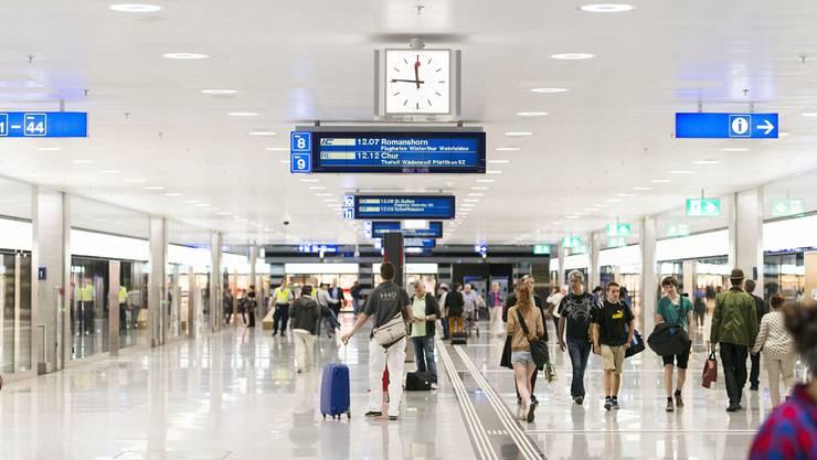 Der neue Bahnhof Löwenstrasse in Zürich – so ähnlich stellen sich die SBB die Unterführung in Basel vor.