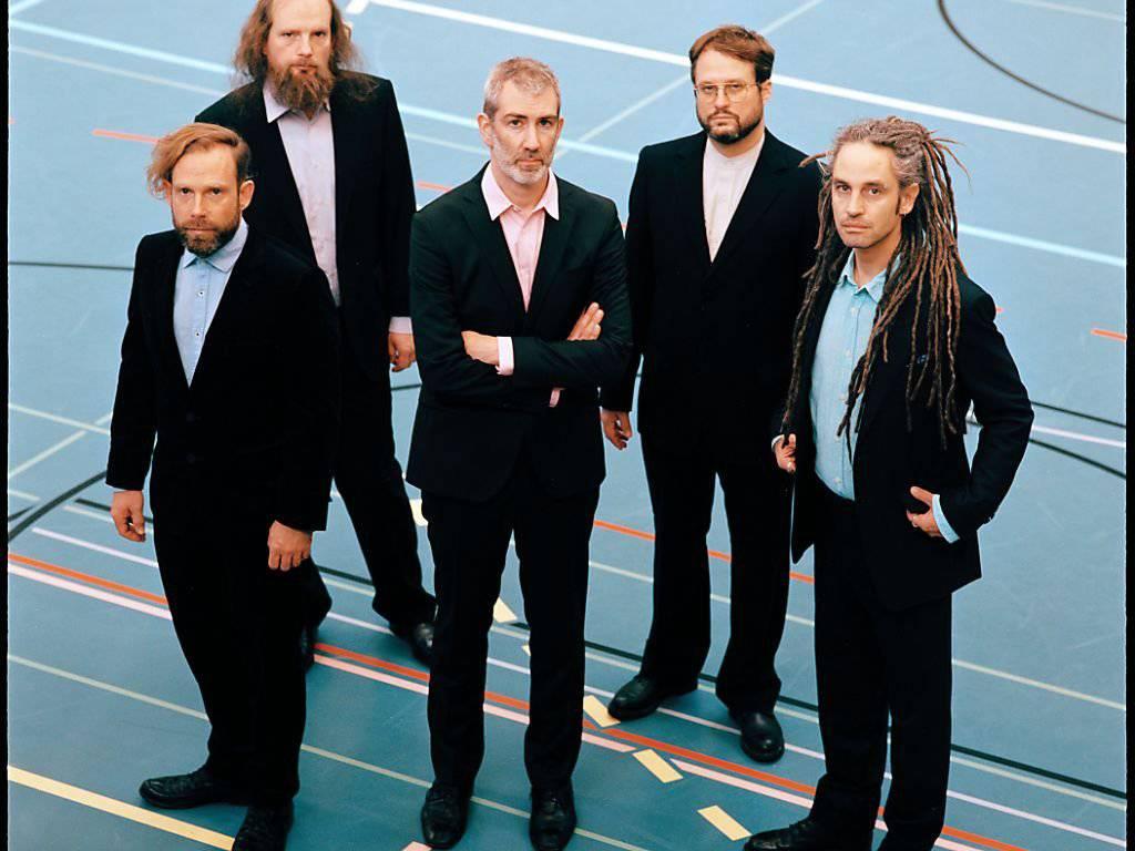 Taufen ihre neue CD im Palace St.Gallen: Stahlberger. (Bild: Adrian Elsener/Eisbüro)
