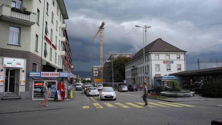 In der Umgebung des Bahnhofs Schlieren soll eine Begegnungszone entstehen.