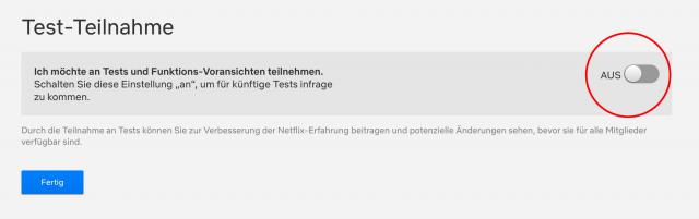 Netflix Printscreen keine Werbung Upload