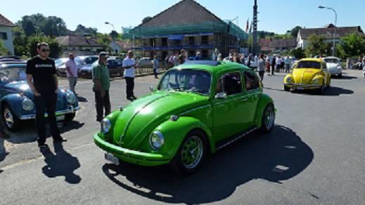 """Der VW-Käfer ist einer der """"Beliebtesten"""" Marken."""