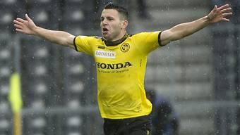 Matchwinner für die Young Boys: Renato Steffen