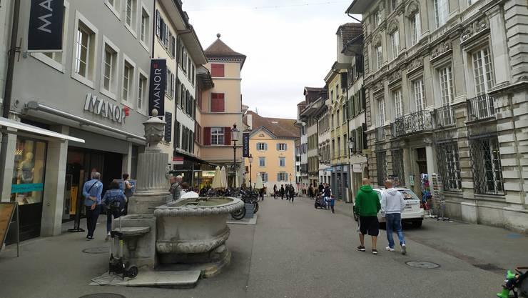 Donnerstag ist Abendverkauf in Solothurn.