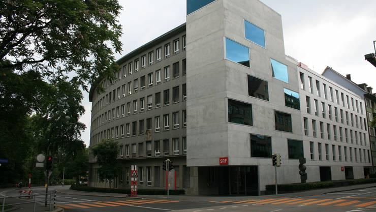 Das Radiostudio der SRG in Bern.