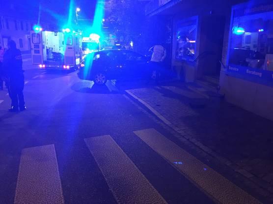 Der Unfall erreignete sich um 1:30 morgens.