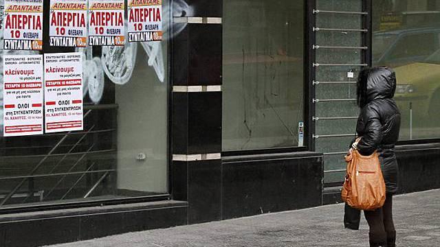 Das öffentliche Leben in Athen steht still