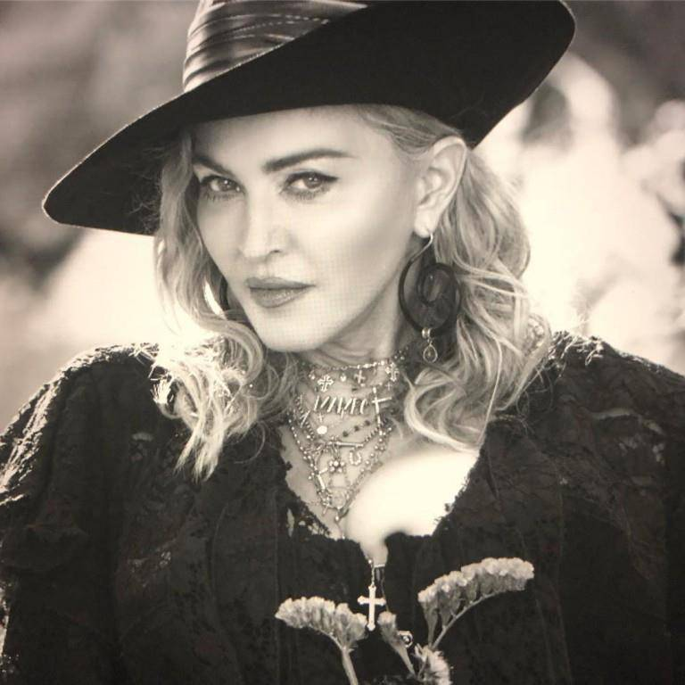 Madonna, der Superstar (© instagram)