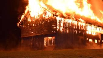 Autofahrer Steve Bischof bemerkte am Freitagabend in Waldstatt (AR) durch Zufall eine brennende Scheune. Dank seinem raschen Handeln, konnte er die zwei Kinder im Haus nebenan vor Schlimmerem bewahren.