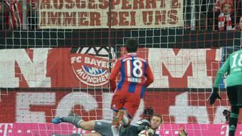 Bayern-Goalie Manuel Neuer als Penalty-Killer
