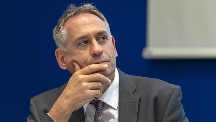 Hans-Peter Wessels, Basler Regierungsrat und Vorsteher des Bau- und Verkehrsdepartementes