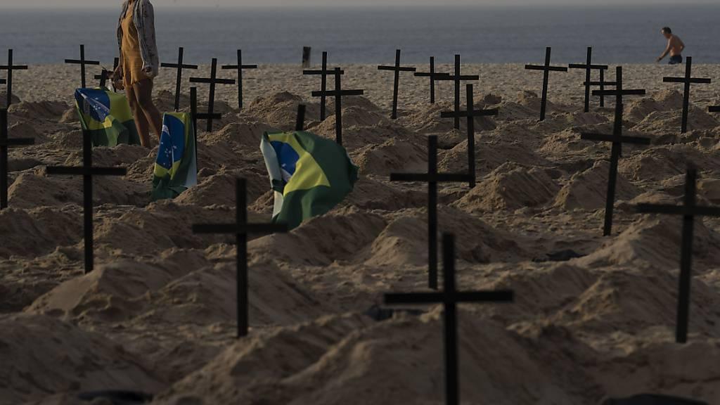 Brasilien beklagt bereits über 50'000 Coronavirus-Tote