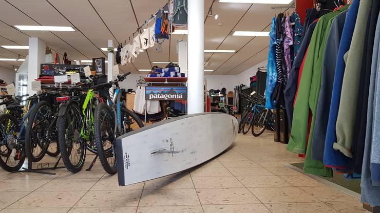 Velos und Stand Up Paddles wurden viele verkauft in diesem Sommer.