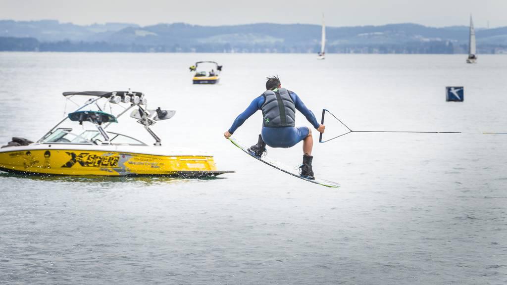 Dem Wasserskiclub Romanshorn fehlen noch Sponsoren für einen Wakeboardlift.