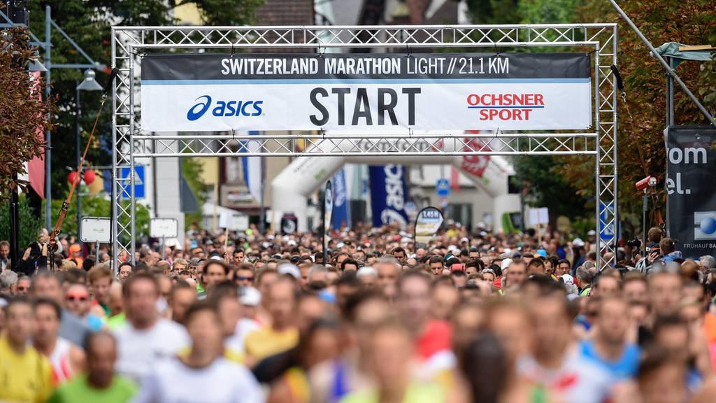 Läufer stirbt bei Marathon in Sarnen