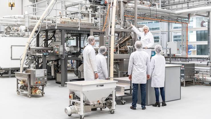 40 Prozent aller Teigwaren weltweit werden mit Maschinen von Bühler hergestellt. Entwickelt werden sie im Pasta-Center.    Bild: PD