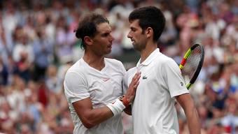 Rafael Nadal und Novak Djokovic behalten - irgendwie - ihre Weisse Weste