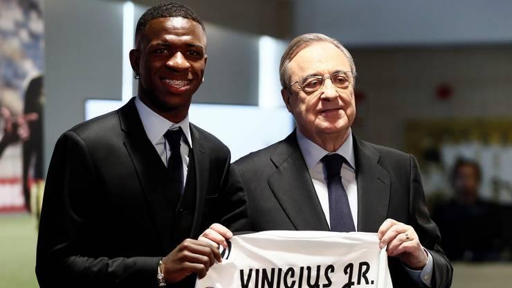 Vinicius Junior ist Reals neueste Hoffnung im Sturm.