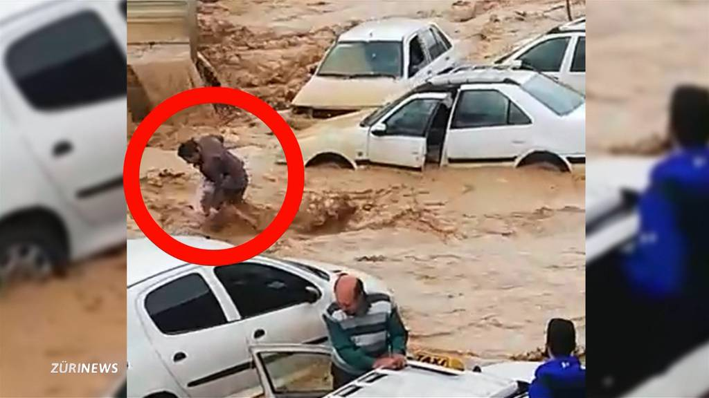 Zürcher Rentnerpaar hilft nach Überschwemmungen im Iran