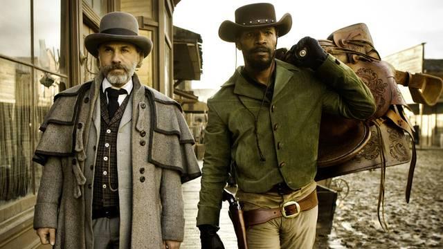 """Christoph Waltz (l.) und Jamie Foxx: Die Stars von """"Django Unchained"""""""
