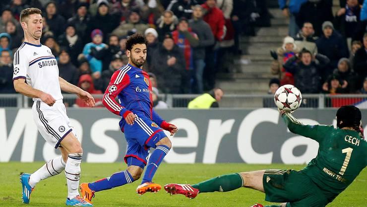 Der grosse Abwesende räumte bei der Award night gleich zweimal ab: Basels Mohamed Salah.
