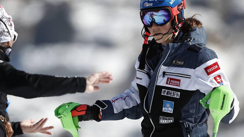 Petra Vlhova hat die Zusammenarbeit mit Livio Magoni (links) beendet