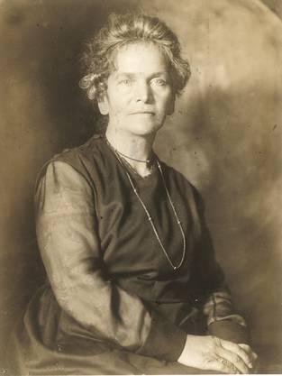 Sophie Haemmerli-Marti.